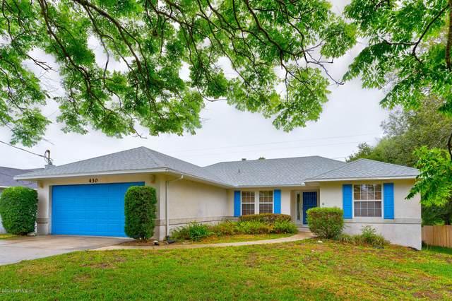 430 Gentian Rd, St Augustine, FL 32086 (MLS #1057168) :: Ponte Vedra Club Realty