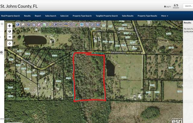 3201 Raulerson Rd E, St Augustine, FL 32092 (MLS #1061045) :: Berkshire Hathaway HomeServices Chaplin Williams Realty
