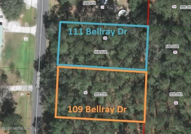 109 Bellray Dr, Satsuma, FL 32187 (MLS #1061539) :: Berkshire Hathaway HomeServices Chaplin Williams Realty