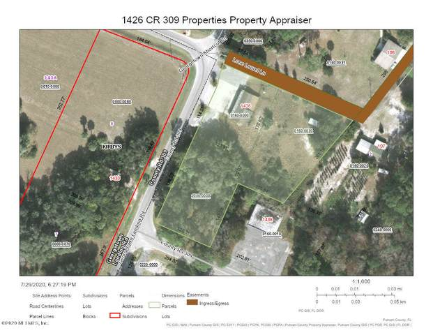 1426 County Rd 309, Georgetown, FL 32139 (MLS #1066880) :: 97Park