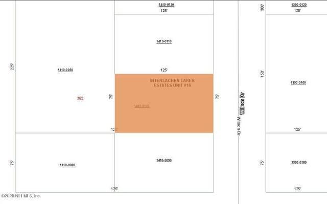 0100 Wilson Dr, Interlachen, FL 32148 (MLS #1073739) :: Bridge City Real Estate Co.