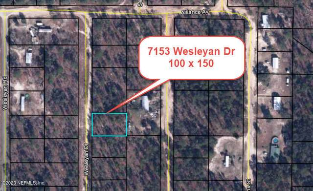 7153 Wesleyan Dr, Keystone Heights, FL 32656 (MLS #1080008) :: MavRealty