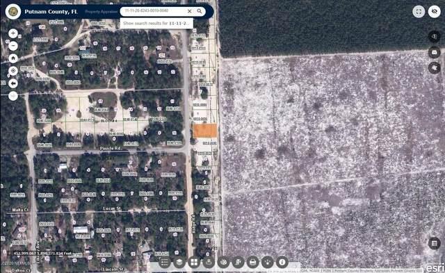 230 Ridge Rd, Satsuma, FL 32189 (MLS #1083758) :: EXIT 1 Stop Realty