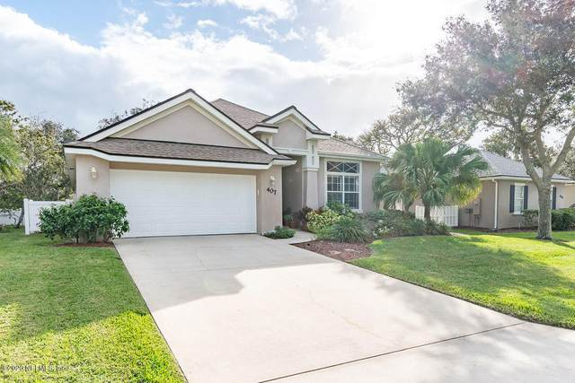 407 Ocean Breeze Ln, St Augustine, FL 32080 (MLS #1084001) :: The Newcomer Group