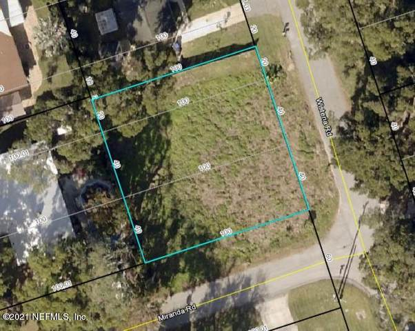 0 Wisteria Rd, St Augustine, FL 32086 (MLS #1090795) :: The Hanley Home Team