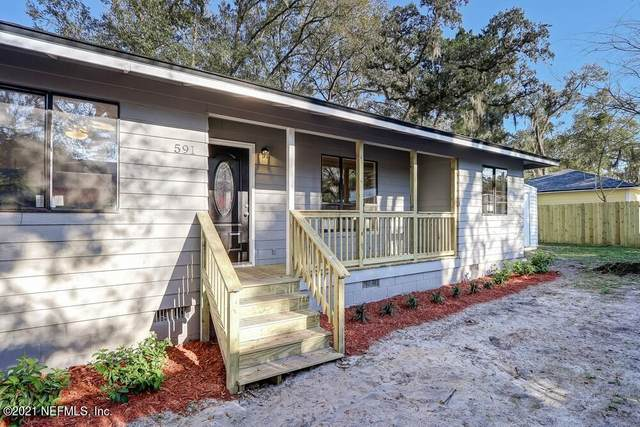 591 Julia St, St Augustine, FL 32084 (MLS #1097045) :: Memory Hopkins Real Estate
