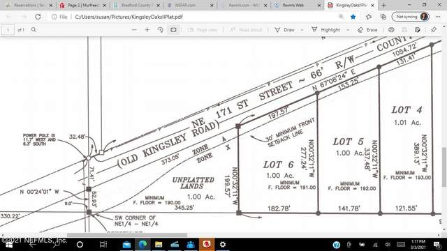 242 171ST KOII LOT 5 St, Starke, FL 32091 (MLS #1097712) :: The Coastal Home Group