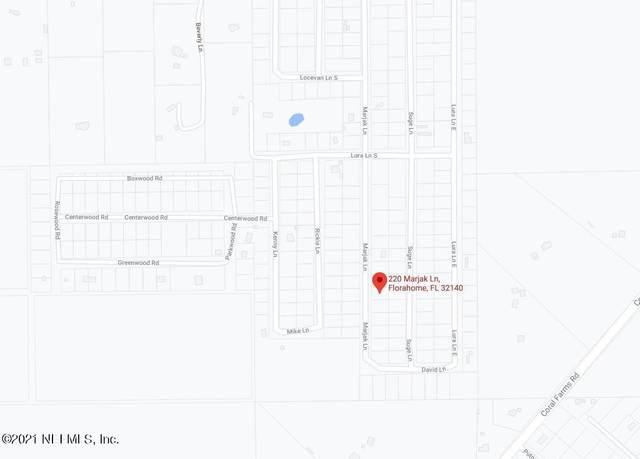 220 Marjak Ln, Florahome, FL 32140 (MLS #1097934) :: Noah Bailey Group
