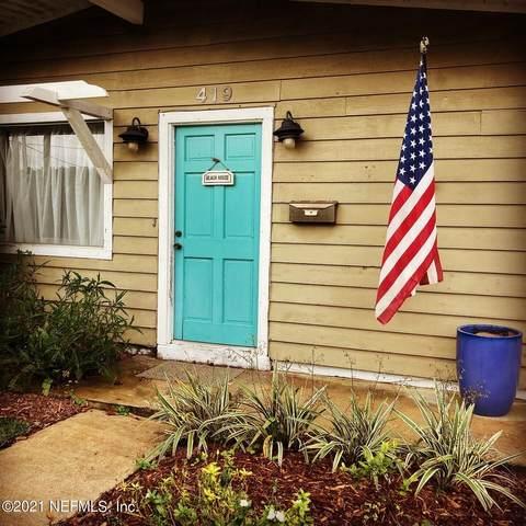 419 Florida Blvd, Neptune Beach, FL 32266 (MLS #1100264) :: EXIT Real Estate Gallery