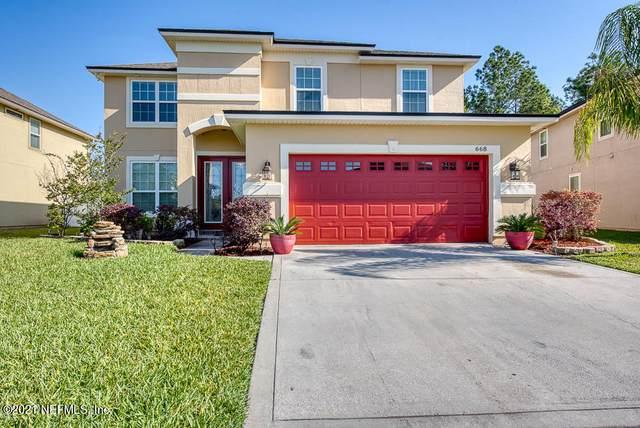 668 Drysdale Dr, Orange Park, FL 32065 (MLS #1101888) :: Ponte Vedra Club Realty