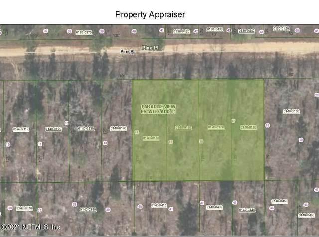 00 Pine Pl, Interlachen, FL 32148 (MLS #1102563) :: Ponte Vedra Club Realty
