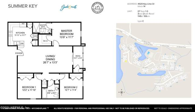 4920 Key Lime Dr #307, Jacksonville, FL 32256 (MLS #1104666) :: Olde Florida Realty Group