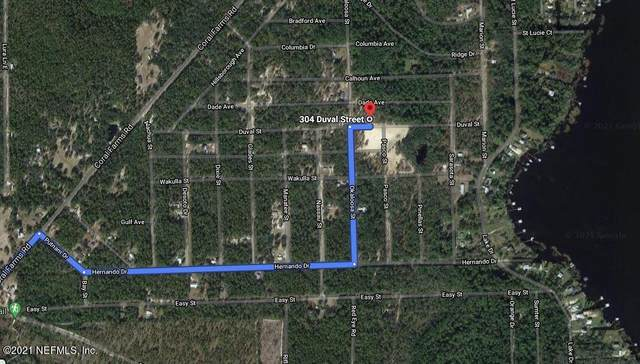 304 Duval Ave, Florahome, FL 32140 (MLS #1106481) :: Endless Summer Realty