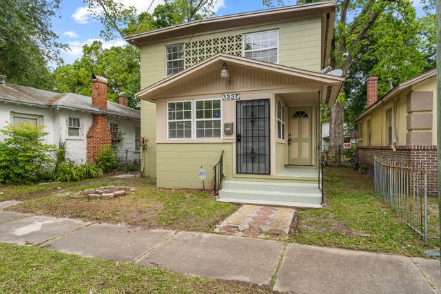 1337 W 23RD St, Jacksonville, FL 32209 (MLS #1106603) :: The Volen Group, Keller Williams Luxury International