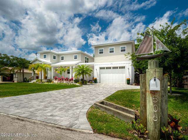 506 20TH St, St Augustine, FL 32084 (MLS #1107807) :: EXIT Inspired Real Estate