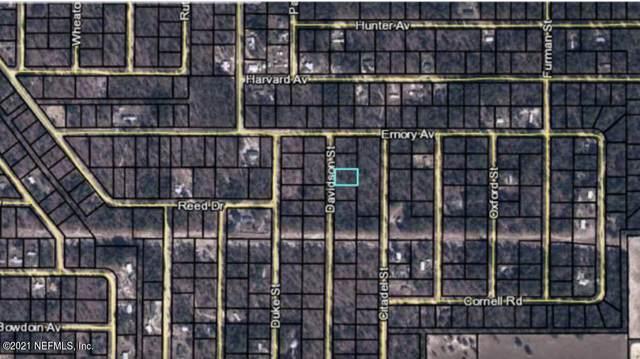 7219 Davidson St, Keystone Heights, FL 32656 (MLS #1107938) :: The Hanley Home Team