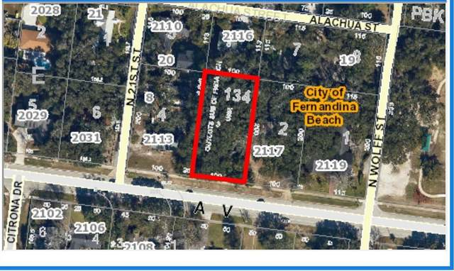 LOT 134 Atlantic Ave, Fernandina Beach, FL 32034 (MLS #1109044) :: The Hanley Home Team