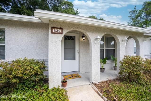 220 Shores Blvd, St Augustine, FL 32086 (MLS #1112671) :: EXIT Inspired Real Estate