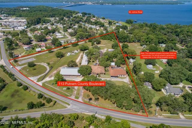 113 Putnam County Blvd, East Palatka, FL 32131 (MLS #1113141) :: CrossView Realty