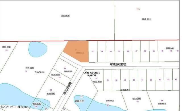 122 Coldbrook St, Georgetown, FL 32139 (MLS #1113209) :: Noah Bailey Group