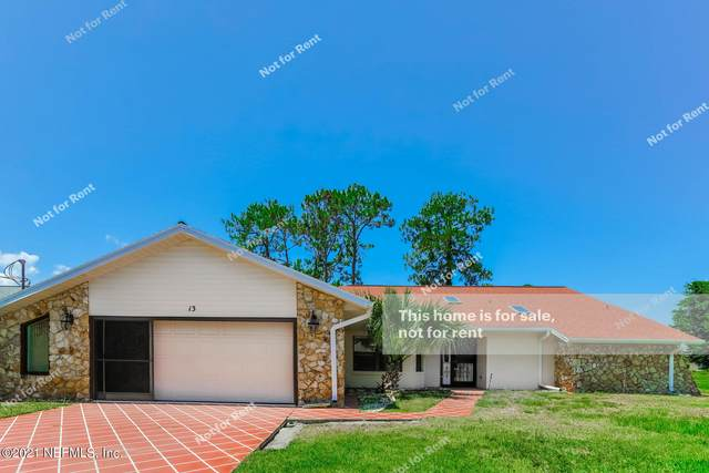 13 Westcliffe Ln, Palm Coast, FL 32164 (MLS #1116827) :: Olde Florida Realty Group