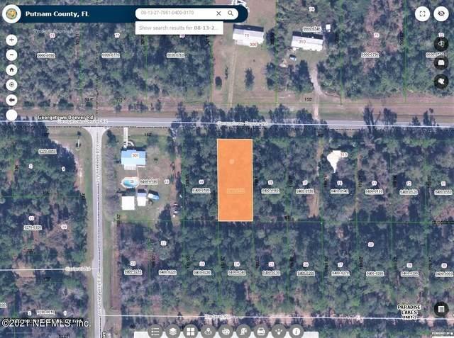 307 Georgetown Denver Rd, Georgetown, FL 32139 (MLS #1118063) :: EXIT Inspired Real Estate