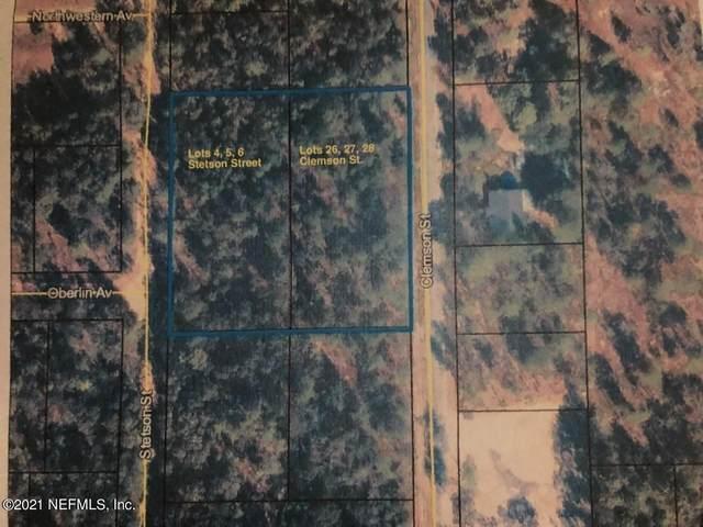 00000 Clemson St, Keystone Heights, FL 32656 (MLS #1119211) :: EXIT Real Estate Gallery