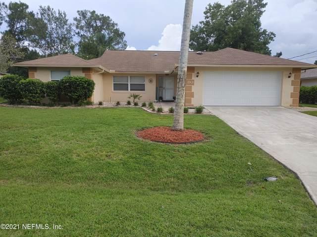 80 Westbury Ln, Palm Coast, FL 32164 (MLS #1122210) :: The Hanley Home Team