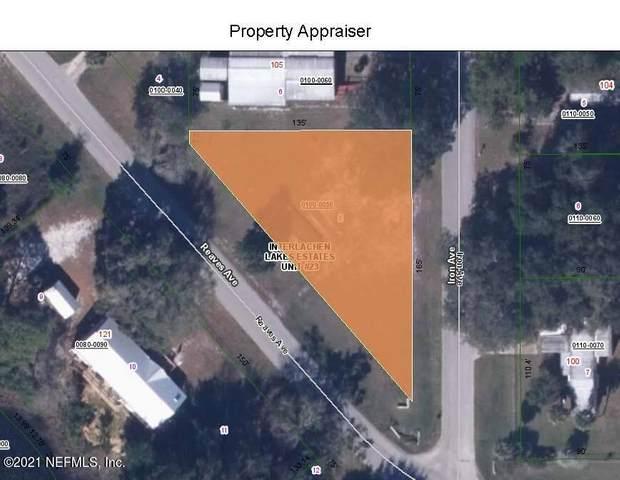 120 Reaves Ave, Interlachen, FL 32148 (MLS #1123384) :: Berkshire Hathaway HomeServices Chaplin Williams Realty