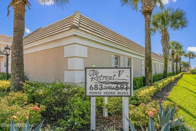 687 Ponte Vedra Blvd C, Ponte Vedra Beach, FL 32082 (MLS #1129800) :: Ponte Vedra Club Realty