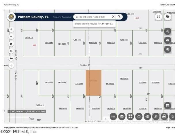 321 Topper St, Interlachen, FL 32148 (MLS #1131025) :: EXIT Real Estate Gallery