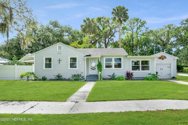 39 E Park Ave, St Augustine, FL 32084 (MLS #1132473) :: CrossView Realty