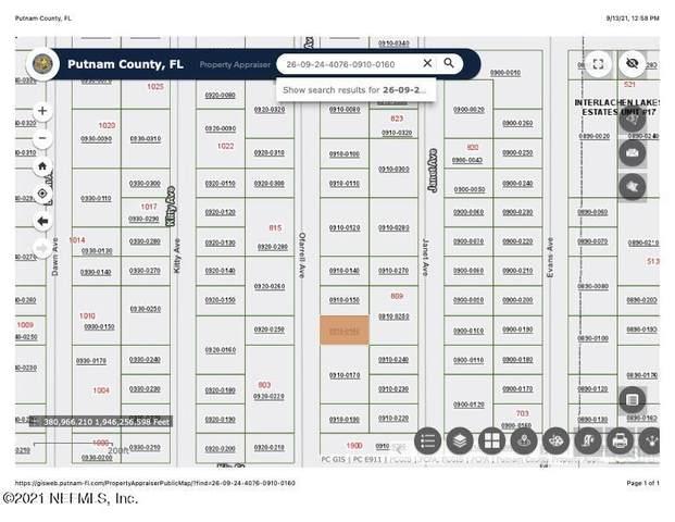 808 O Farrell Ave, Interlachen, FL 32148 (MLS #1132949) :: The Hanley Home Team