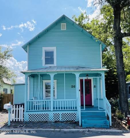 24 S Leonardi St, St Augustine, FL 32084 (MLS #1132999) :: The Perfect Place Team