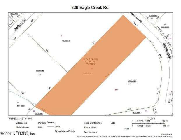339 Eagle Creek Rd, GREEN COVE SPRINGS, FL 32043 (MLS #1133629) :: Memory Hopkins Real Estate