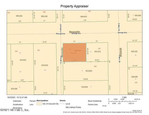 505 Orange Ave, Crescent City, FL 32112 (MLS #1134453) :: CrossView Realty