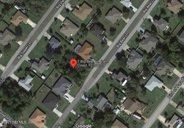 7 Big Bear Ln, Palm Coast, FL 32137 (MLS #1135655) :: EXIT Real Estate Gallery