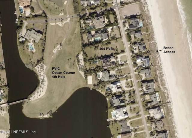 404 Ponte Vedra Blvd, Ponte Vedra Beach, FL 32082 (MLS #1137857) :: Cady Realty