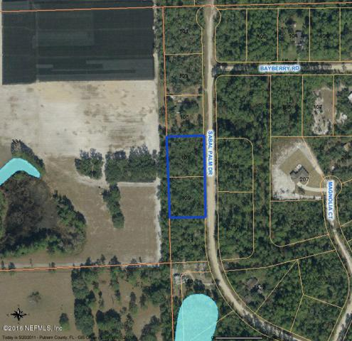 107, 109 Sabal Palm Dr, Georgetown, FL 32139 (MLS #820428) :: The Hanley Home Team