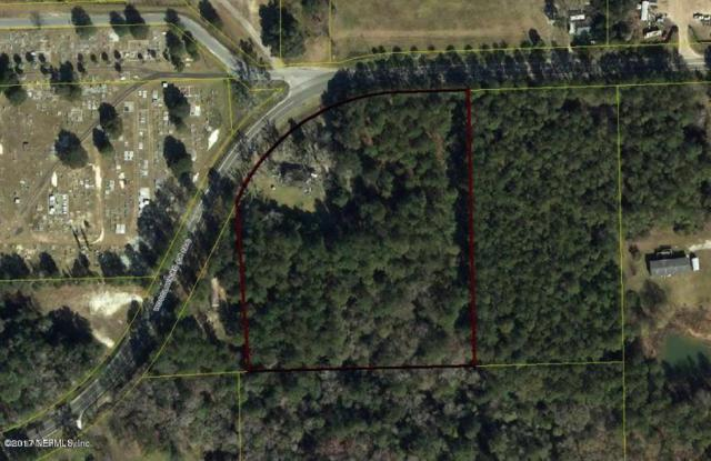 5454 Woodlawn Rd, Macclenny, FL 32063 (MLS #866383) :: The Hanley Home Team