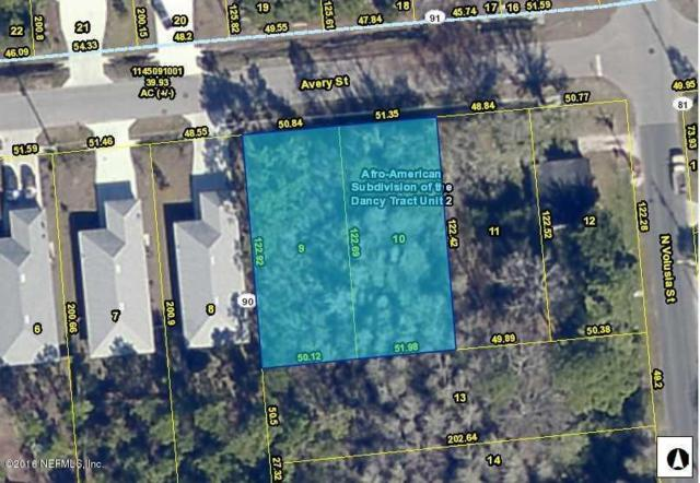 913 Avery St Lot 10, St Augustine, FL 32084 (MLS #894344) :: EXIT Real Estate Gallery