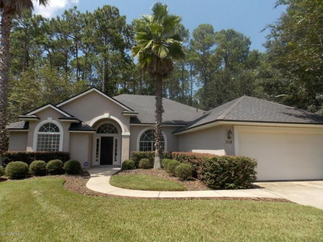 504 Bell Branch Ln, St Johns, FL 32259 (MLS #899995) :: EXIT Real Estate Gallery