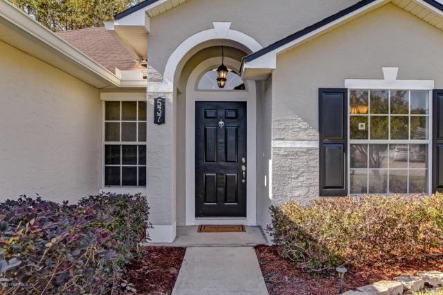 537 Prosperity Lake Dr, St Augustine, FL 32092 (MLS #909940) :: EXIT Real Estate Gallery