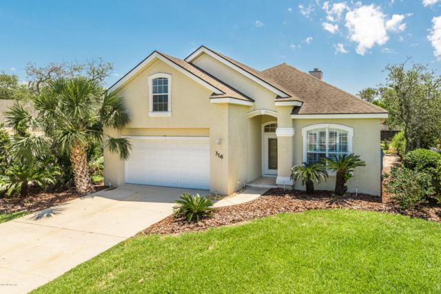 316 S Ocean Trace Rd, St Augustine Beach, FL 32080 (MLS #911961) :: EXIT Real Estate Gallery