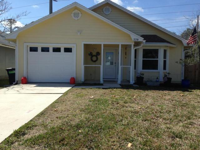 220 Vista Grande Dr, Ponte Vedra Beach, FL 32082 (MLS #921463) :: EXIT Real Estate Gallery