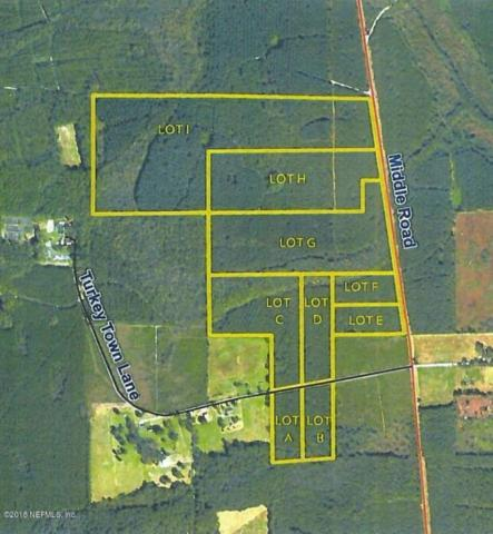 LOT 9 Middle Rd, Callahan, FL 32011 (MLS #925189) :: RE/MAX WaterMarke