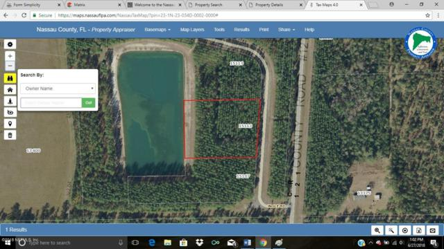 15113 Ingle Rd, Bryceville, FL 32009 (MLS #944028) :: EXIT Real Estate Gallery