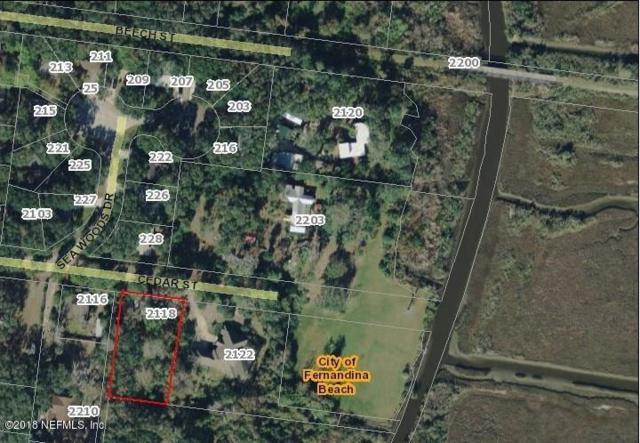 2118 Cedar St, Fernandina Beach, FL 32034 (MLS #947652) :: EXIT Real Estate Gallery