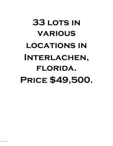 XXX Various Locations, Interlachen, FL 32148 (MLS #954869) :: Memory Hopkins Real Estate