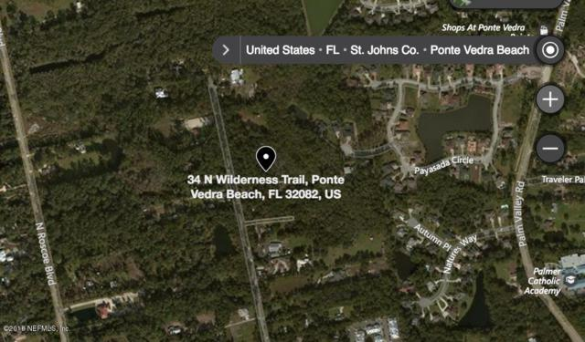 LOT 34 N Wilderness Trl, Ponte Vedra Beach, FL 32082 (MLS #957049) :: CrossView Realty